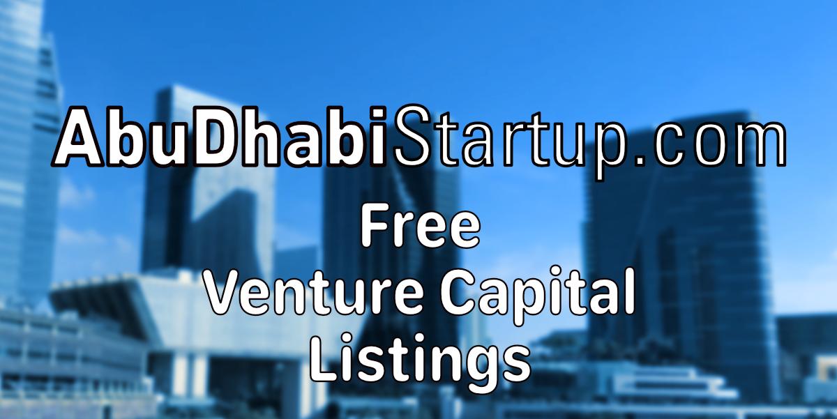 Calling All Abu Dhabi Venture Capital Firms
